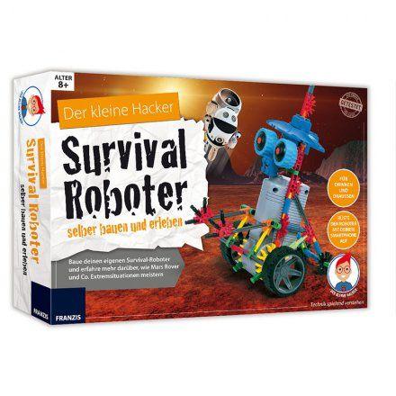 Franzis Der kleine Hacker - Survival Roboter selber bauen online kaufen ➜ Bestellen Sie Der kleine Hacker - Survival Roboter selber bauen für nur 49,95€ im design3000.de Online Shop - versandkostenfreie Lieferung ab €!