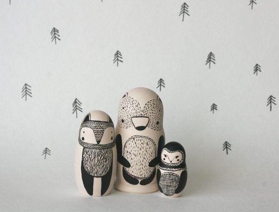 1000 ideen zu matroschka auf pinterest stickstiche eulen basteln und russische puppen tattoo. Black Bedroom Furniture Sets. Home Design Ideas