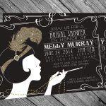 great gatsby invitation templates blank - Great Gatsby Party Invitations