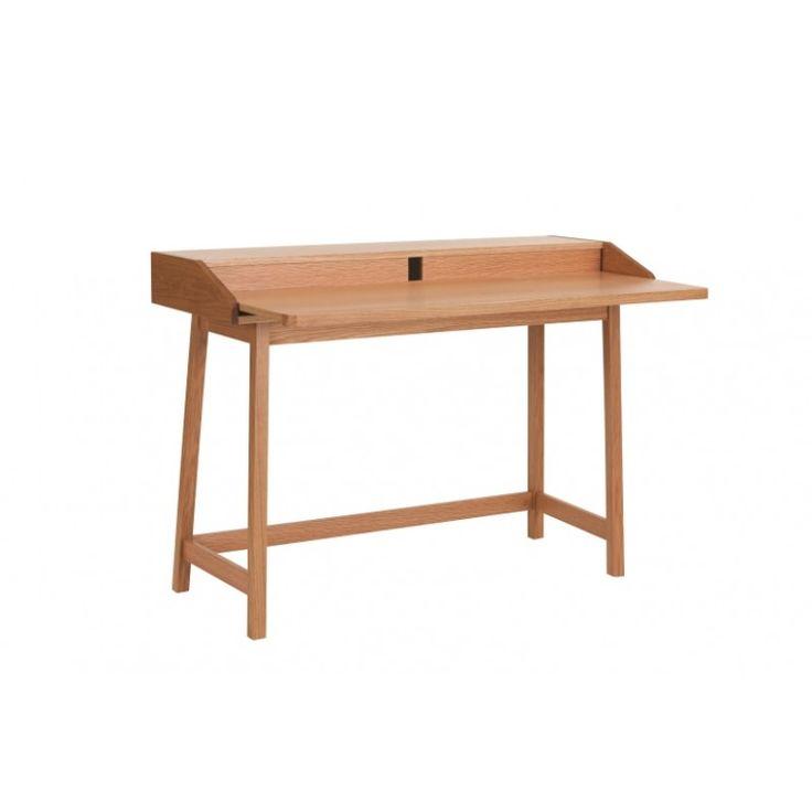 Barrö - skrivbord - utdragbar arbetsskiva :: Nyhet, Skrivbord, Kontorsmöbler, Varumärken > Woodman