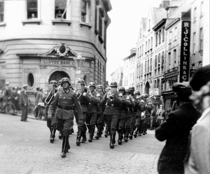 Germans during the occupation in Guernsey its our liberation day today May 9th