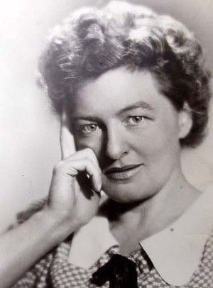 P.L. Travers - Author of Mary Poppins - What a lady!