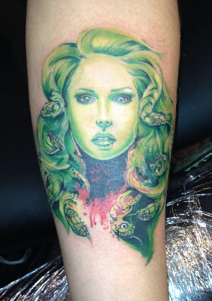 Medusa tattoo realistictattoo medusa bust tattoos realistic