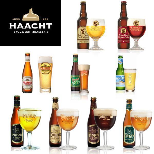 Les bières de La brasserie belge Haacht  située à Boortmeerbeek ne peuvent passer inaperçues !  les bières Tongerlo et Charles Quint ainsi que sa pils Primus sont mondialement connues. Santé !  http://www.haacht.com/