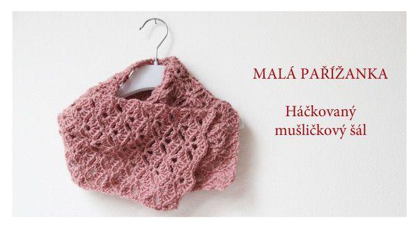 Háčkovaný šál pro prababi / Crochet shawl for grand grandmama