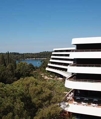 Like a luxury cruise liner nestled on the hillside, the seductive, minimalist curves of Hotel Lone's design are influenced by the area's unique natural landscap... Get more information about the Hotel Lone on Hostelman.com #place #Croatia #hotel #travel #destinations #tips #packing #ideas #budget #trips