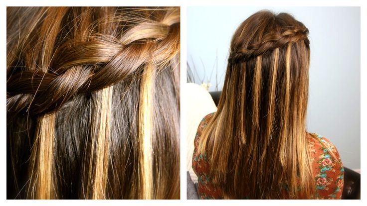 DIY Dutch Waterfall Braid | Cute Braided Hairstyles | Cute Girls Hairstyles