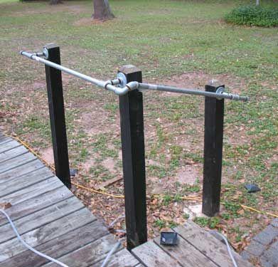 Install pipe handrail | DIY - Galvanized-Metal Pipe ...