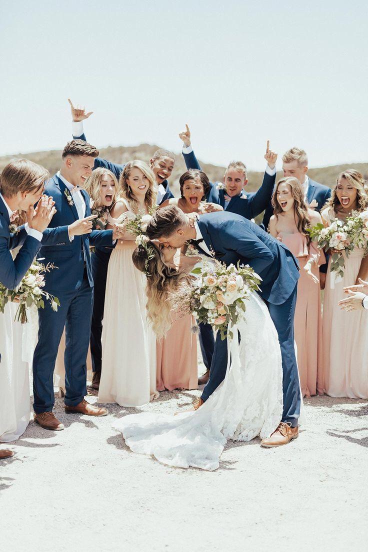 Chic Malibu Hochzeit für diese Long Distance Lovebirds