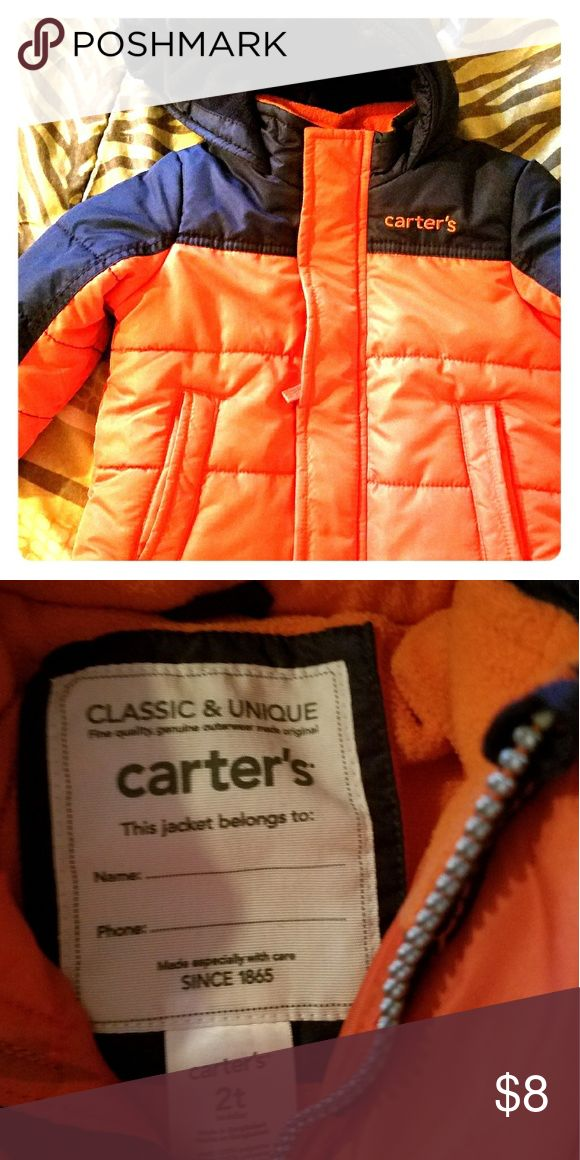 Boys Winter Jacket Carters classic Jacket, used a couple of times. But remains in great condition. Carter's Jackets & Coats
