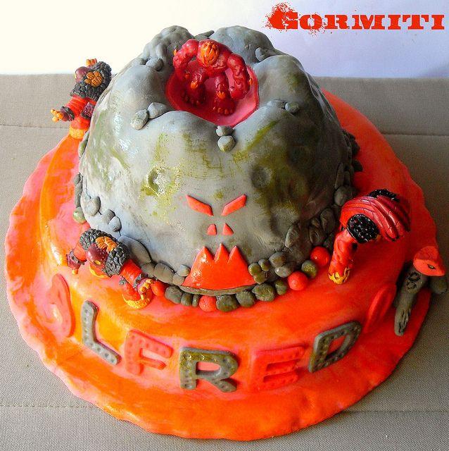 gormiti cakeGormiti Cake