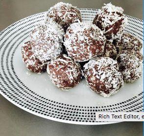 Easy paleo chocolate bliss ball recipe