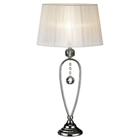 Found it at Wayfair.co.uk - Christinehof Table Lamp in Chrome