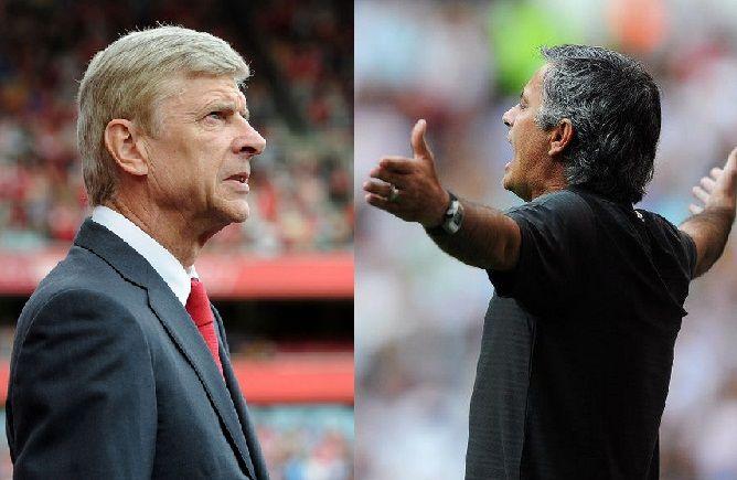 Tehnicianul echipei Arsenal Londra, Arsene Wenger, a calificat, duminica, drept stupide si lipsite de respect afirmatiile de vineri ale antrenorului formatiei Chelsea, Jose Mourinho. Nu vreau sa come
