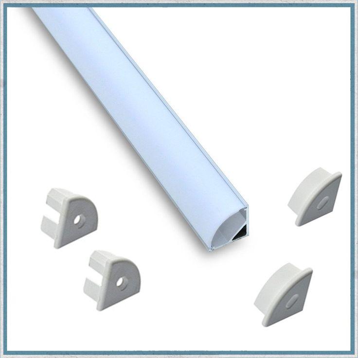 Corner profile led aluminium lighting channel kit led