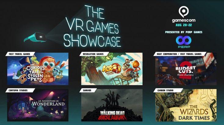 Gamescom 2019 VR Games Showcase To Highlight Six Upcoming Games
