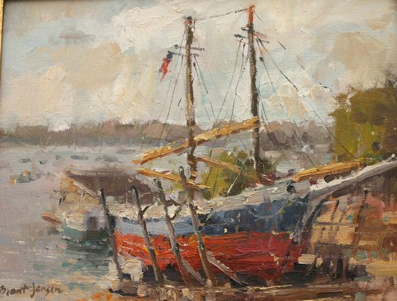 Rockport Sailing Ship