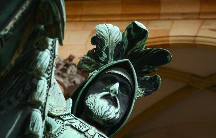 Count Eberhard, Altes Schloss Stuttgart, Germany