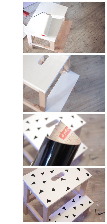 les 25 meilleures id es concernant marche pied bois sur pinterest marche pied marchepied en. Black Bedroom Furniture Sets. Home Design Ideas