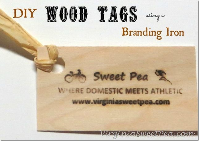 Handmade Tags Using a Woodworker's Branding Iron | Our Best Crafts and DIY | Handmade tags, Diy crafts for gifts, Branding iron