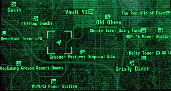 There are about 80+ unmarked locations in Fallout 3... :)