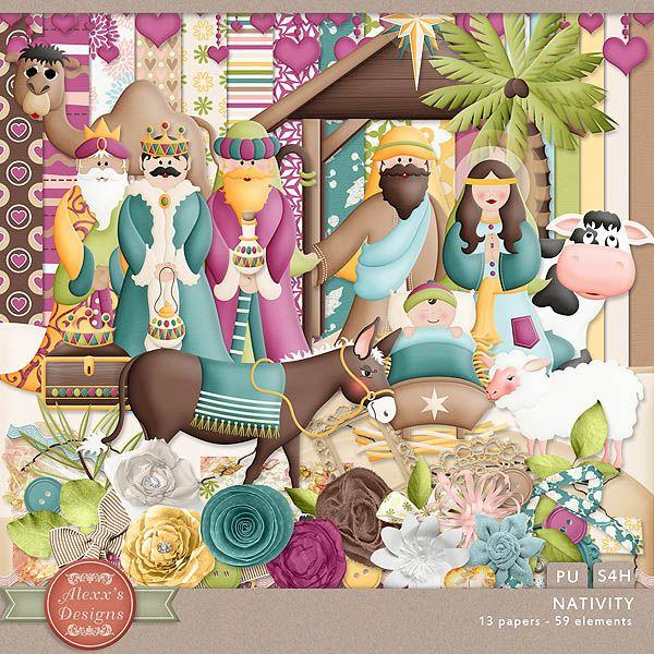 Nativity Kit by Alexx's Designs