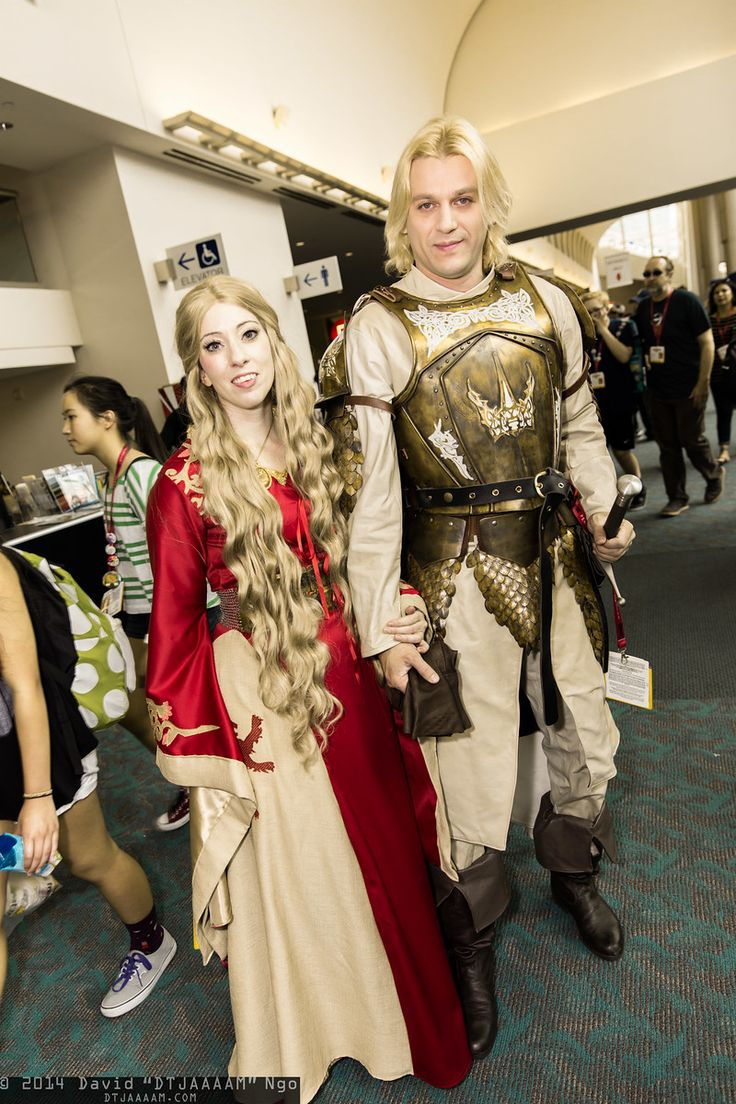 Célèbre Cersei Lannister and Jaime Lannister cosplay | San Diego Comic-Con  VW64