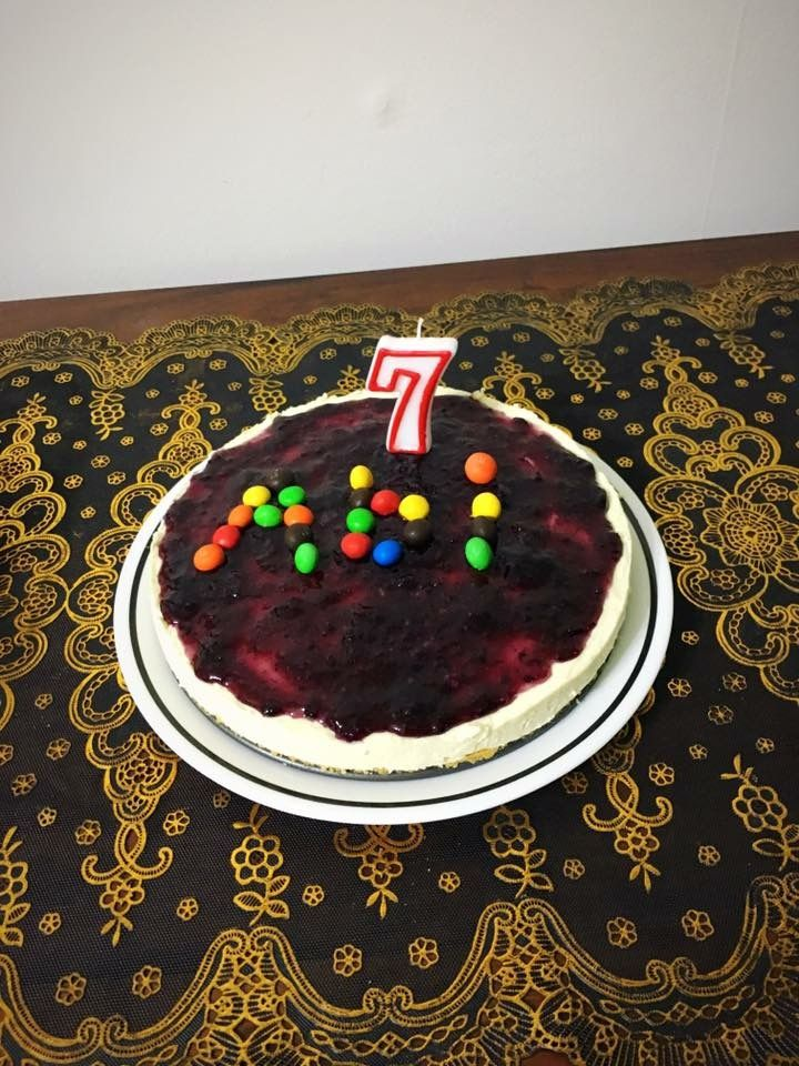 Cheezecake for Abi (7th month)