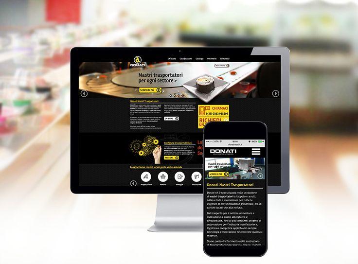 #Monforte #website #responsive  #mobile #donati #nastritrasportatori