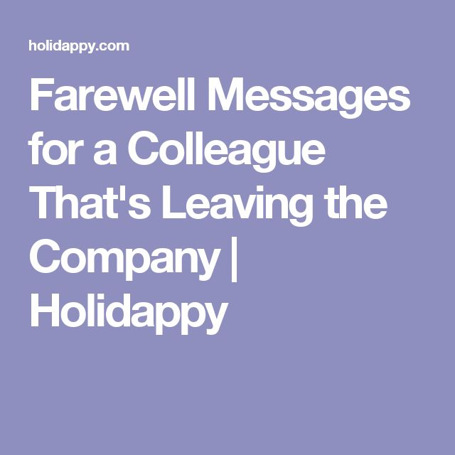 The 25+ best Farewell message to colleague ideas on ...