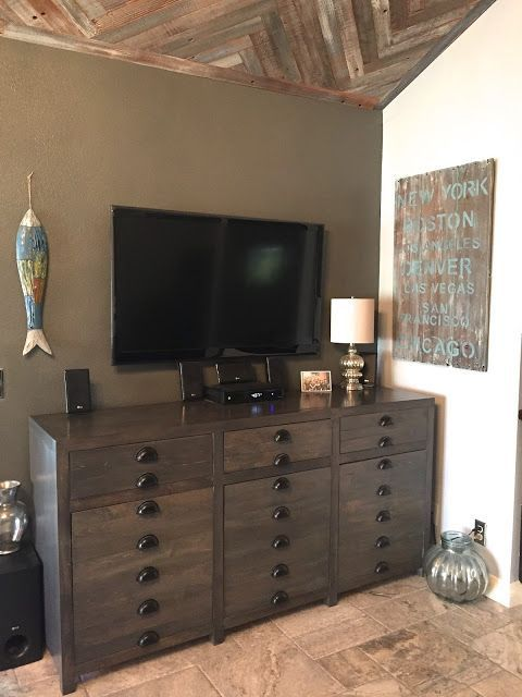 25 TV Stand Design Ideas For Stylish Living Room / DIY