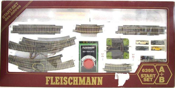 Spur HO Fleischmann 6395 Startset Schlepptenderlokomotive 53 320 DRG mit Güterzug - OVP