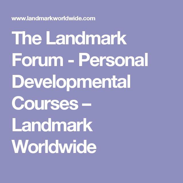 The Landmark Forum - Personal Developmental Courses – Landmark Worldwide