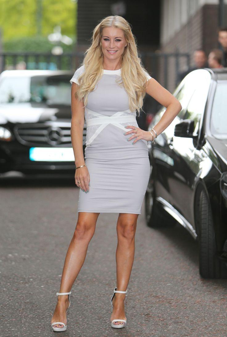 Denise Van Outen at the ITV Studios (6 August, 2015)
