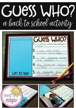Back to School | Guess Who?
