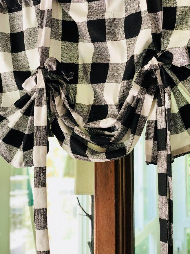 diy how to make your own tie up curtains contemporarykitchens rh pinterest com