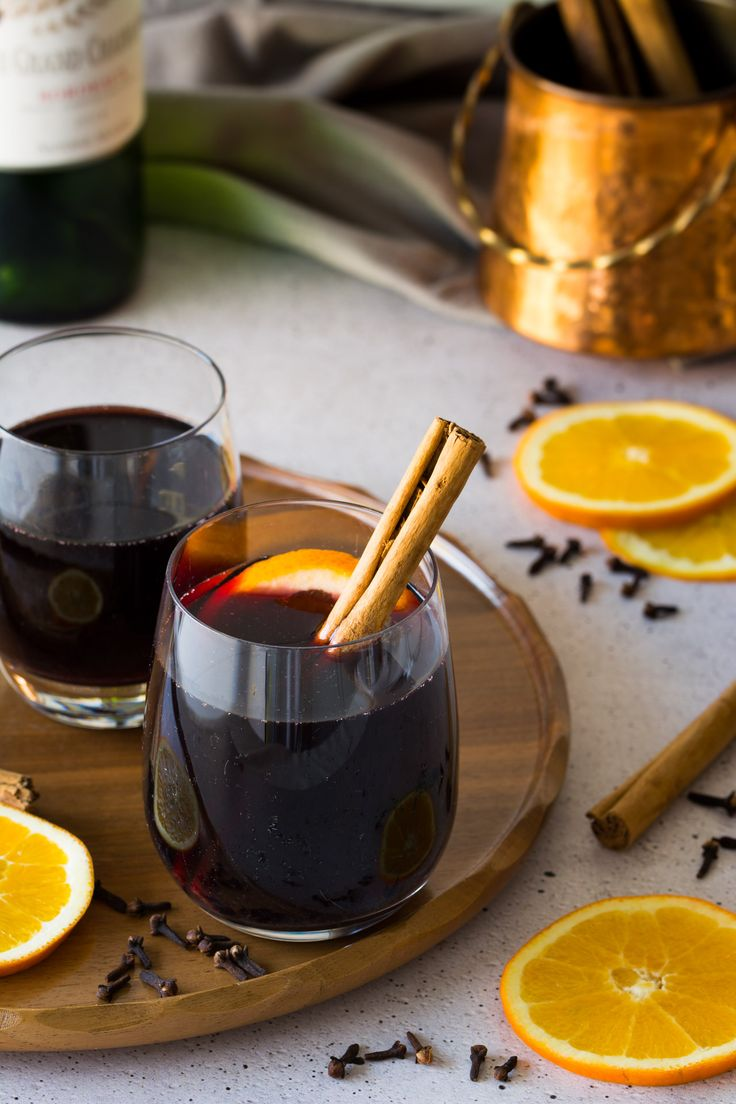 Christmas Market Style Gluhwein is a festive staple! Learn how to make it the real German way with this recipe!