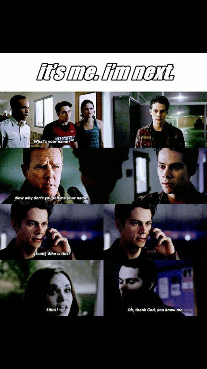 Ma quella in cui Stiles lo chiama al telefono e Scott gli chiede chi é,mi ha spezzato il cuore(a dare il colpo di grazia é stata la scena con lo sceriffo e tutte quelle Stydia, ma di queste ultime ne parlo dopo)