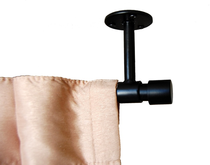 Amazing Ceiling Curtain Rod: 86 With Ceiling Mount Curtain Rods
