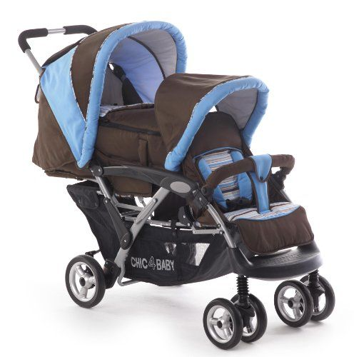 CHIC 4 BABY Geschwisterwagen DUO 274 41 - Carrito #maternidad http://carritosbebe.org/producto/chic-4-baby-geschwisterwagen-duo-274-41-carrito/