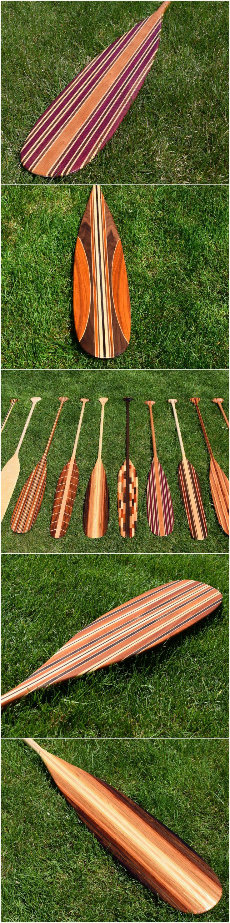 Custom Canoe Paddles by Winnebago Paddles! #WinnebagoPaddles