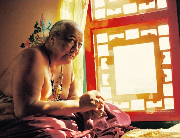 """A deep feeling of renunciation ~ Dilgo Khyentse Rinpoche http://justdharma.com/s/qi3c2  A prisoner locked in jail thinks all the time about different ways of getting free — how he might climb over the walls, ask powerful people to intervene, or raise money to bribe someone. So, too, seeing the suffering and imperfection of samsara, never stop thinking about how to gain liberation, with a deep feeling of renunciation.  – Dilgo Khyentse Rinpoche  from the book """"The Heart of Compassion: The…"""