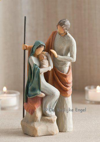 Willow Tree De Heilige Familie - 2011 - De Vrolijke Engel