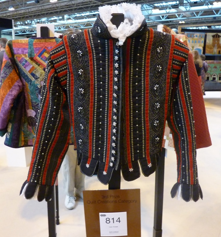 modern quilting applied to tudor doublet | SCA - Early ...
