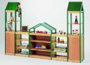 #Mueble #infantil con dos #torres de 1 pieza. #Mobiliario en Tienda Educamueble