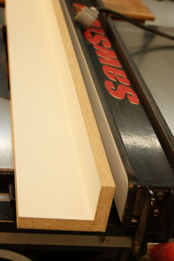 Learn how jointing on the table saw can be an effective work around for straightening edges using a shop-made jig you can joint on your table saw.