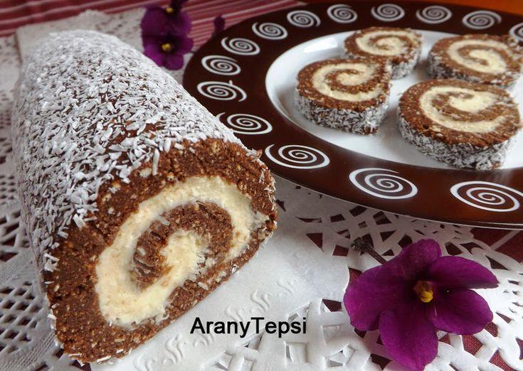 AranyTepsi: Egyszerű keksztekercs