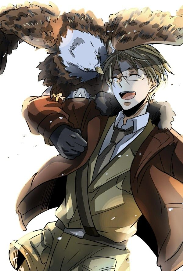America (Hetalia). I actually really like the America character in Hetalia. Sure, he's brash and loud and a little bit full of himself, but he's genuinely willing to help his friends out. Also, he's really funny. xD << actually I don't know what to say about it