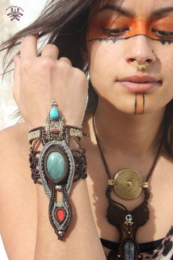 аксессуары для волос   макраме   Macrame bracelets, Macrame ...