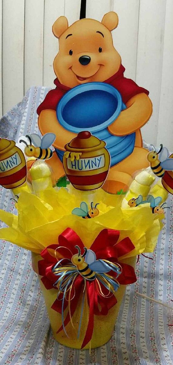 Extra Large Winnie the Pooh Centerpiece with by SOUTHFLOWER